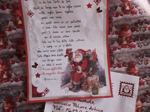 Letterina a Babbo Natale di   G. Fracassi